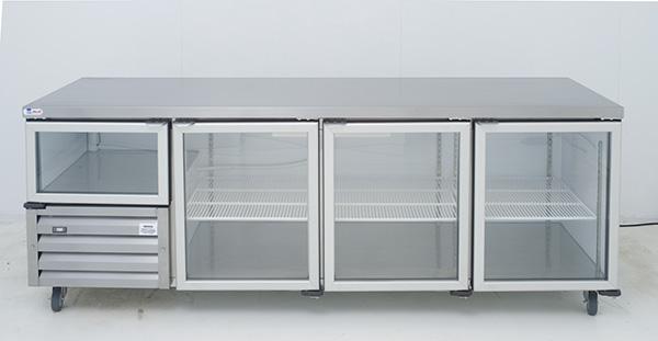 Gl Door Underbar Range Swing Self Contained Cabinet